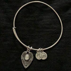 Alex and Ani Guardian angel bracelet